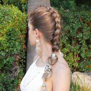 dutch braid and fishtail